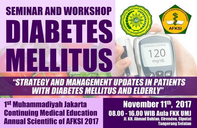 Live Seminar & Workshop Diabetes Mellitus